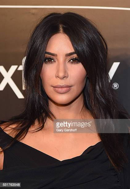 Kim Kardashian West attends the 20th Annual Webby Awards at Cipriani Wall Street on May 16 2016 in New York City