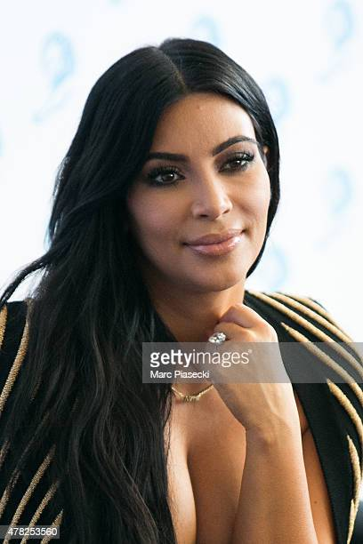 Kim Kardashian West attends the 'Cannes Lions Festival' on June 24 2015 in Cannes France