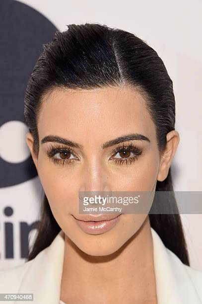 Kim Kardashian West attends Variety's Power Of Women New York Brought To You by Gevalia at Cipriani 42nd Street on April 24 2015 in New York City