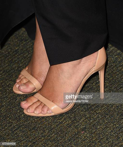 Kim Kardashian West fashion detail attends the book signing for 'Selfish' at Barnes Noble bookstore at The Grove on May 7 2015 in Los Angeles...