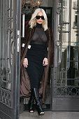 Kim Kardashian West is seen on March 11 2015 in Paris France