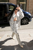 Kim Kardashian Sighting In Paris - March 25, 2019