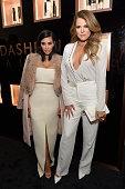 Kim Kardashian West Khloe Kardashian and Farouk Systems Inc Celebrate the Launch of Kardashian Beauty at Academy Mansion on February 10 2015 in New...