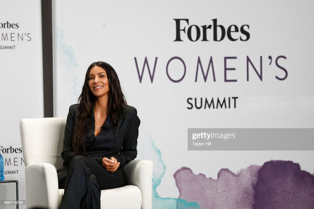 Kim Kardashian West speaks during the 2017 Forbes Women's Summit at Spring Studios on June 13, 2017 in New York City.