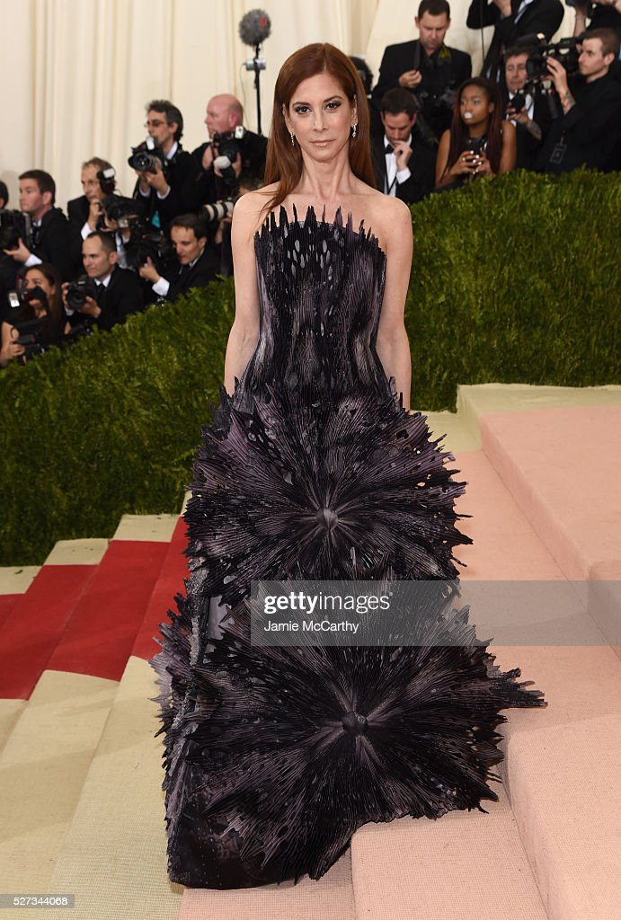 Kim Kassel attends the 'Manus x Machina: Fashion In An Age Of Technology' Costume Institute Gala at Metropolitan Museum of Art on May 2, 2016 in New York City.