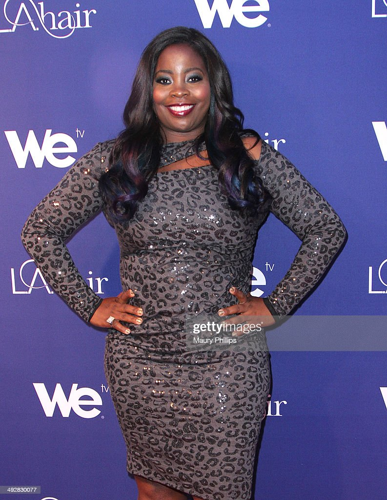 Kim Kimble arrives at 'L.A. Hair' Season 3 premiere party at Kimble Hair Studio and Extension Bar on May 21, 2014 in Los Angeles, California.