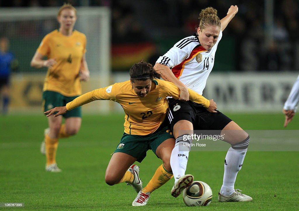 Germany v Australia - Women's International Friendly