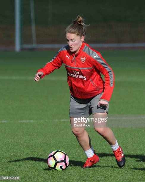Kim Little of Arsenal Ladies during Arsenal Ladies Training Session at London Colney on February 7 2017 in St Albans England