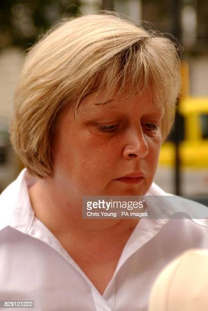 Kim Marie Clarke arrives at the Nursery and Midwifery Council in central London A registered nurse from Lincolnshire faces several charges of...