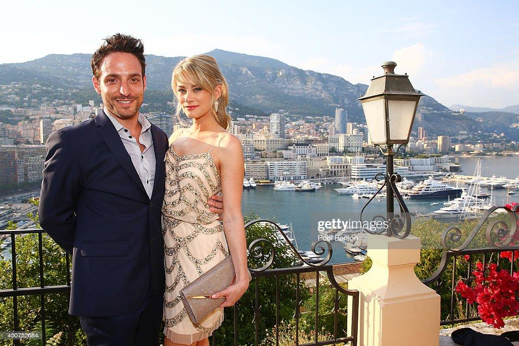 Kim Matula and Ben Goldberg attends a Cocktail Reception at the Ministere d'etat on June 9, 2014 in Monte-Carlo, Monaco.