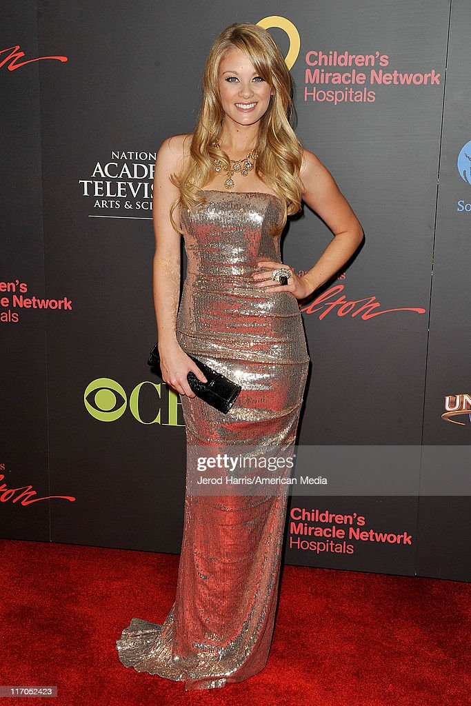 Kim Matula arrives at 38th Annual Daytime Entertainment Emmy Awards For Soap Opera Weekly on June 19, 2011 in Las Vegas, Nevada.