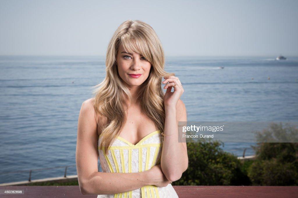 Kim Matula poses during a portrait session at Grimaldi Forum on June 8, 2014 in Monaco, Monaco.