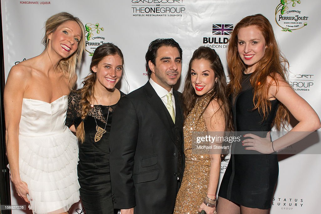 Kim McCall, Alexi Tavel, Nick Andreottola, Nicole Rose Stillings and Olga Nemcova attend Celebrate Your Status 2012 by the Happy Hearts Fund at Gansevoort Park Hotel on December 17, 2012 in New York City.