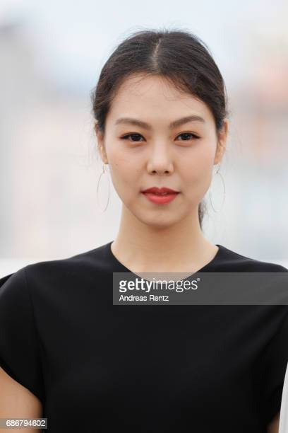 Kim Min Hee attends the 'The Day After ' photocall during the 70th annual Cannes Film Festival on May 22 2017 in Cannes France