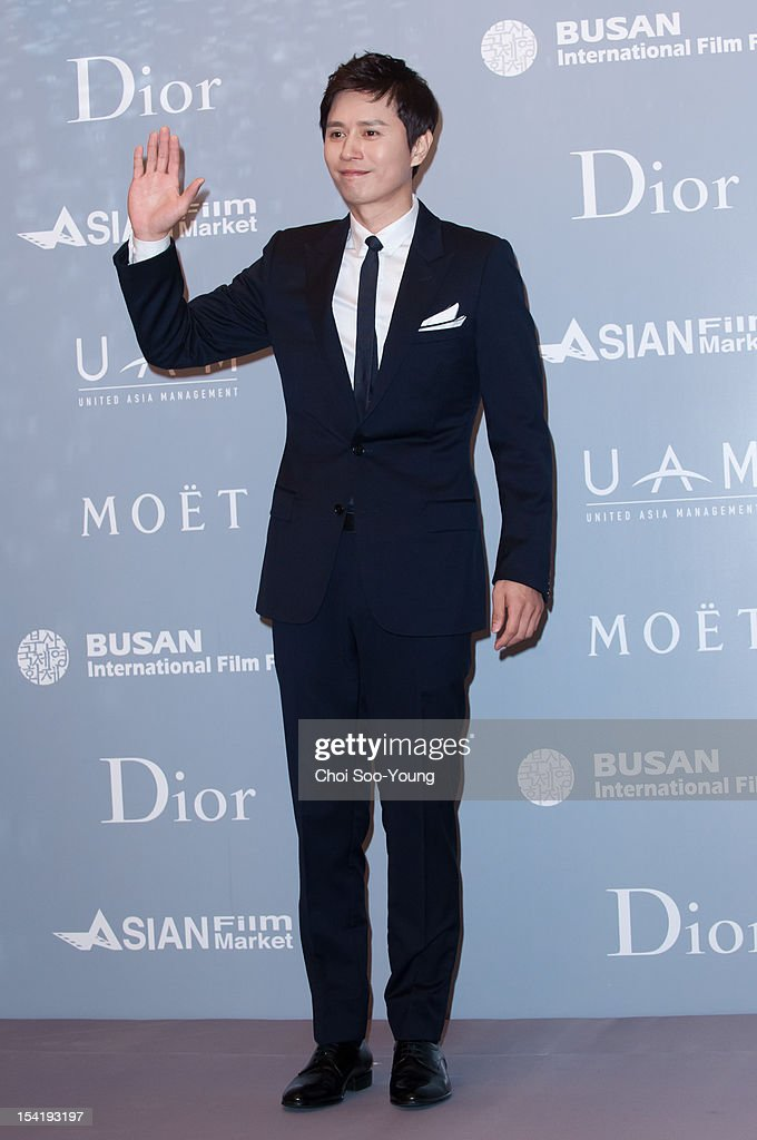 Kim Min-Jong attends the 'United Asian Film Night with Christian Dior' in conjunction with the Busan International Film Festival(BIFF) at the Westin Chosun Hotel on October 8, 2012 in Busan, South Korea.