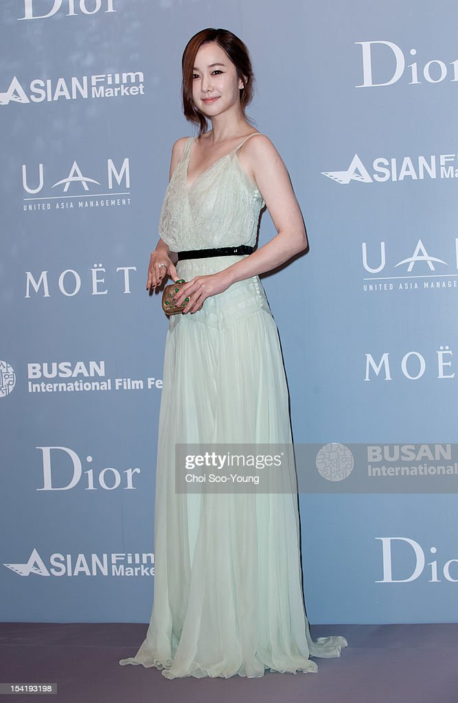 Kim Min-Seo attends the 'United Asian Film Night with Christian Dior' in conjunction with the Busan International Film Festival(BIFF) at the Westin Chosun Hotel on October 8, 2012 in Busan, South Korea.