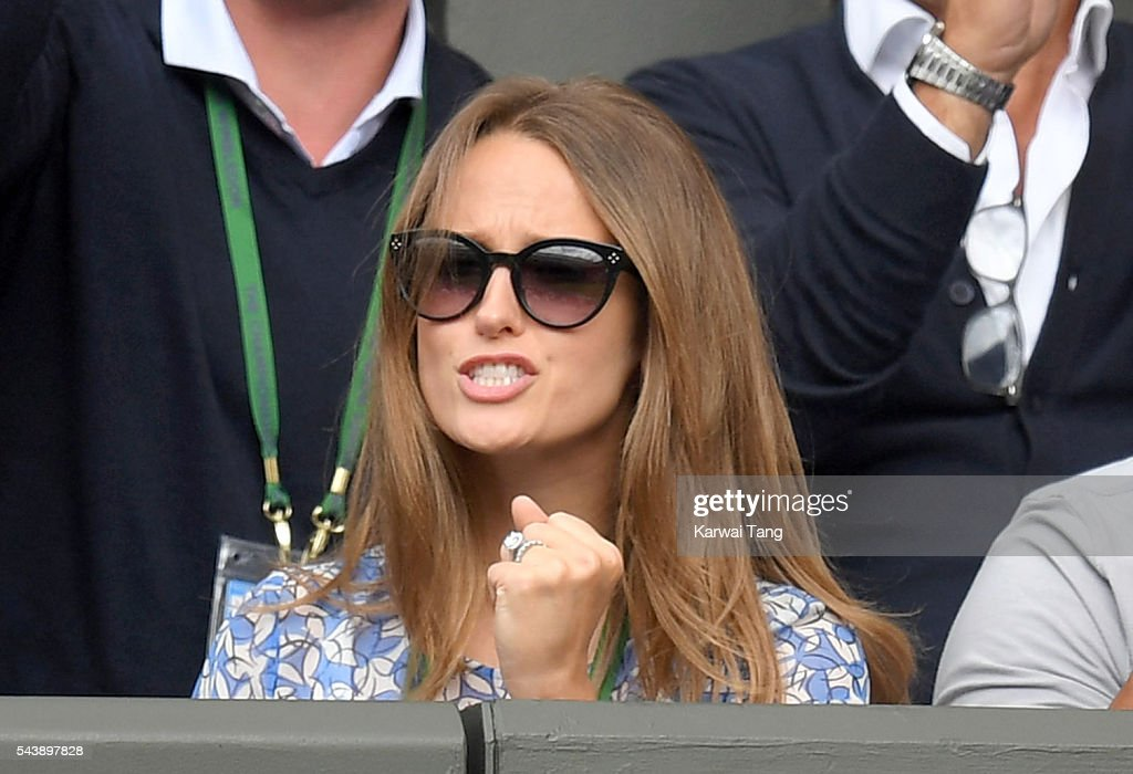 <a gi-track='captionPersonalityLinkClicked' href=/galleries/search?phrase=Kim+Murray&family=editorial&specificpeople=582322 ng-click='$event.stopPropagation()'>Kim Murray</a> attends day four of the Wimbledon Tennis Championships at Wimbledon on June 30, 2016 in London, England.