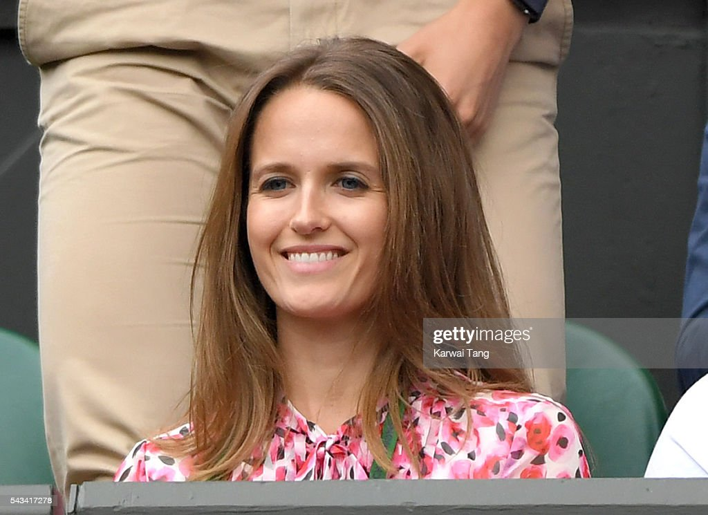 <a gi-track='captionPersonalityLinkClicked' href=/galleries/search?phrase=Kim+Murray&family=editorial&specificpeople=582322 ng-click='$event.stopPropagation()'>Kim Murray</a> attends day two of the Wimbledon Tennis Championships at Wimbledon on June 28, 2016 in London, England.