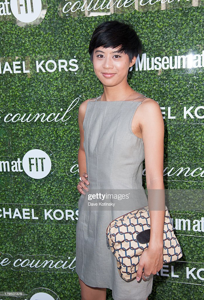 Kim Nguyen attends 2013 Couture Council Fashion Visionary Awards at David H. Koch Theater, Lincoln Center on September 4, 2013 in New York City.