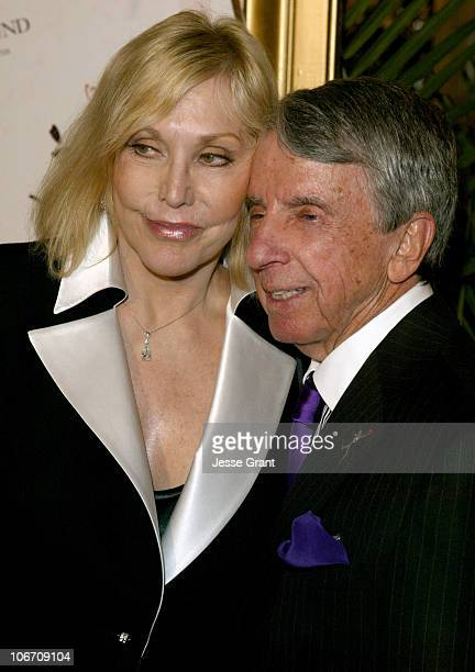 Kim Novak and Norman Brokaw during The Heart Fund at CedarsSinai Honors Norman Brokaw with the Steven S Cohen Humanitarian Award at The Regent...