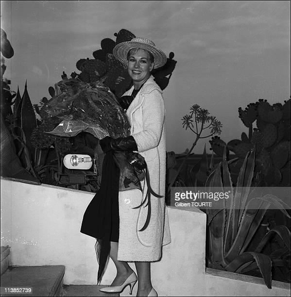 Kim Novak at Cannes Film Festival in 1959
