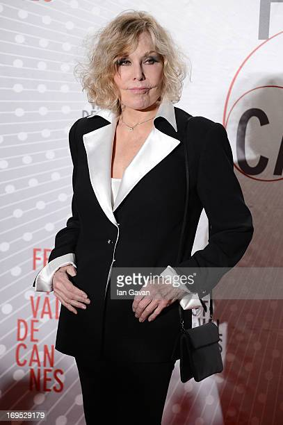 Kim Novak attends he Palme D'Or Winners dinner during The 66th Annual Cannes Film Festival at Agora on May 26 2013 in Cannes France