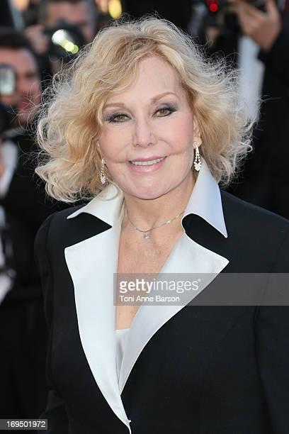 Kim Novak attends the Premiere of 'La Venus A La Fourrure' at The 66th Annual Cannes Film Festival on May 25 2013 in Cannes France