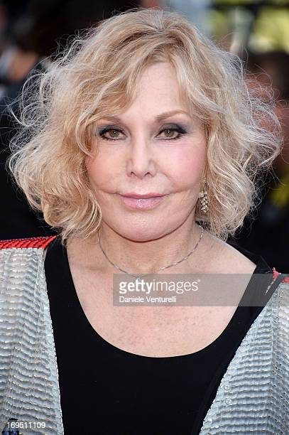 Kim Novak attends the Premiere of 'Zulu' and the Closing Ceremony of The 66th Annual Cannes Film Festival at Palais des Festivals on May 26 2013 in...