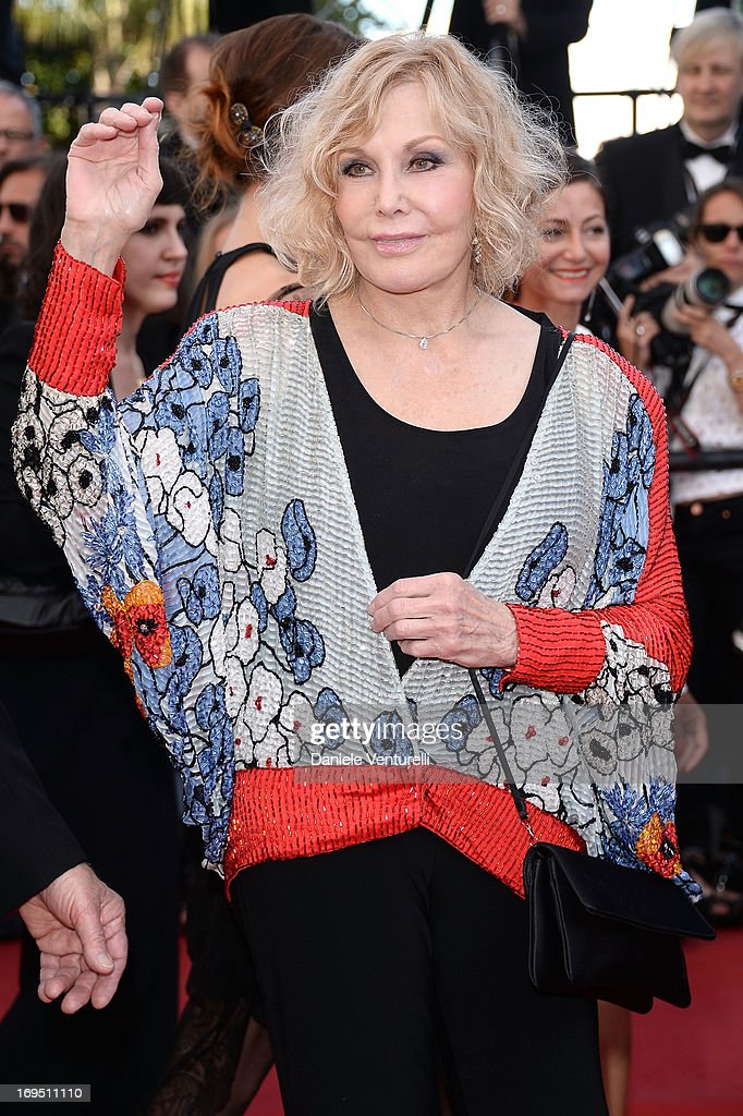 Kim Novak attends the Premiere of 'Zulu' and the Closing Ceremony of The 66th Annual Cannes Film Festival at Palais des Festivals on May 26, 2013 in Cannes, France.