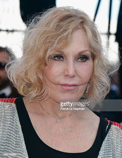 Kim Novak attends the 'Zulu' Premiere and Closing Ceremony during the 66th Annual Cannes Film Festival at the Palais des Festivals on May 26 2013 in...