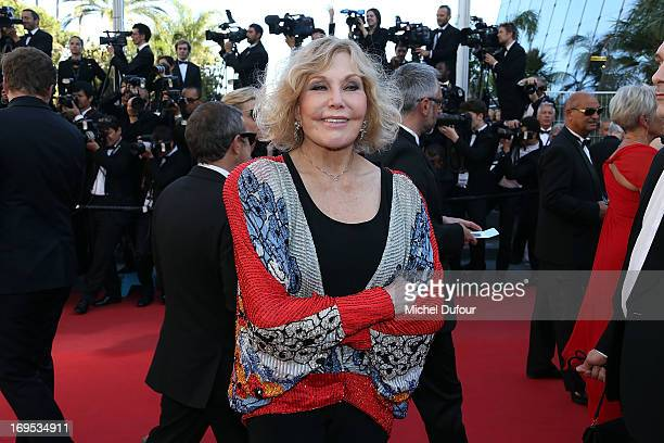 Kim Novak attends the 'Zulu' Premiere and Closing Ceremony during the 66th Annual Cannes Film Festival at the Palais des Festival on May 26 2013 in...