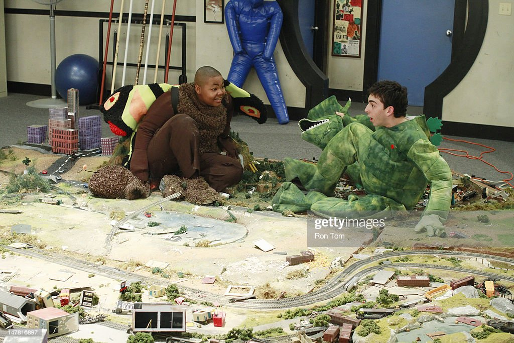 KICKIN' IT - 'Kim of Kong' - When Jack lets Kim win at sparring, Kim wants a fair rematch. At the arcade, Jack and Kim go head-to-head in an epic video game battle to become the top competitor of 'Immortal Warrior.' Meanwhile, Jerry and Eddie lose Lonnie's prized lizard and dress up as a lizard and a moth in hopes of finding it. Rudy and Milton build a miniature train town called Rudyville, in a new episode of 'Kickin' It,' MONDAY, JULY 23 (8:00-8:30 p.m., ET/PT) on Disney XD. ARIAS