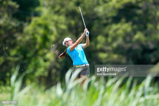 K Kim of Korea during the first round of the LPGA Shoprite Classic on June 02 at Stockton Seaview Hotel and Golf Club in Galloway NJ