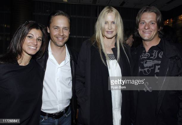 Kim Painter actor Chad Lowe actress Daryl Hannah and pro skiier Shane Anderson attend the UNICEF and LA Friends event for the TAP Project at Craft on...