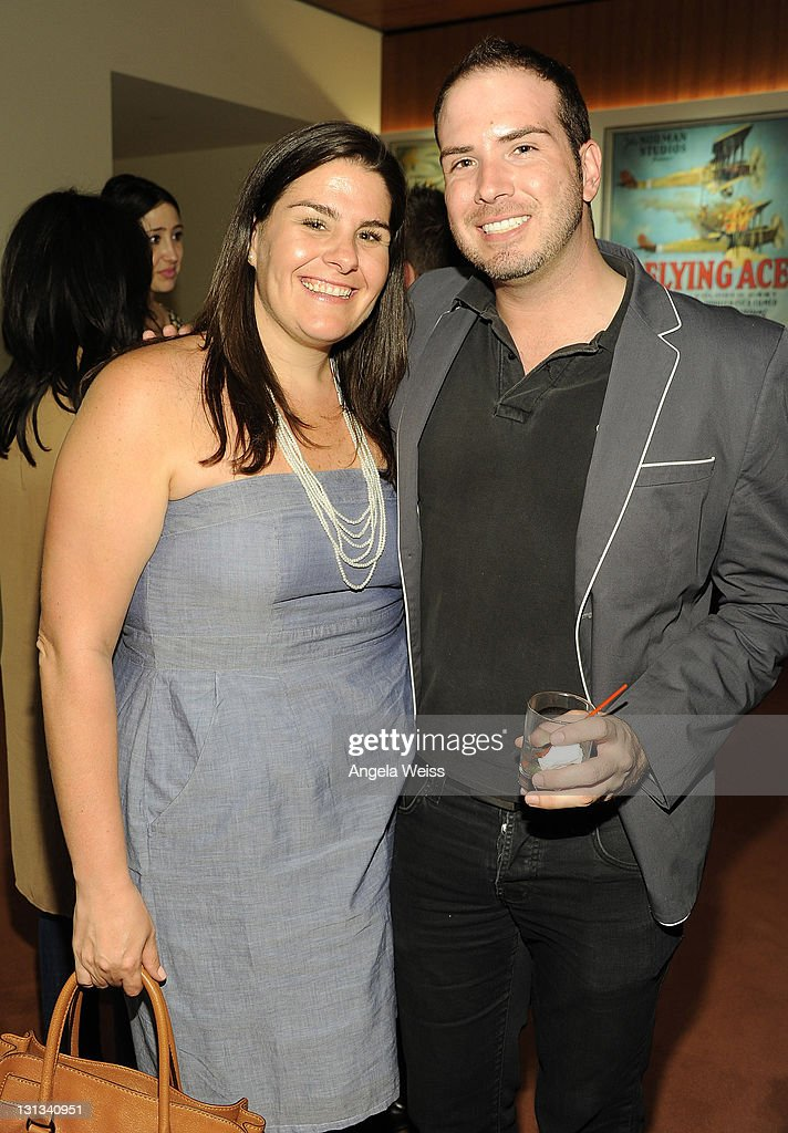 Kim Pappas and Jason Wanamaker attend the VIP preview screening of 'Something Borrowed' hosted by Gilt City Los Angeles at Linwood Dunn Theater at...