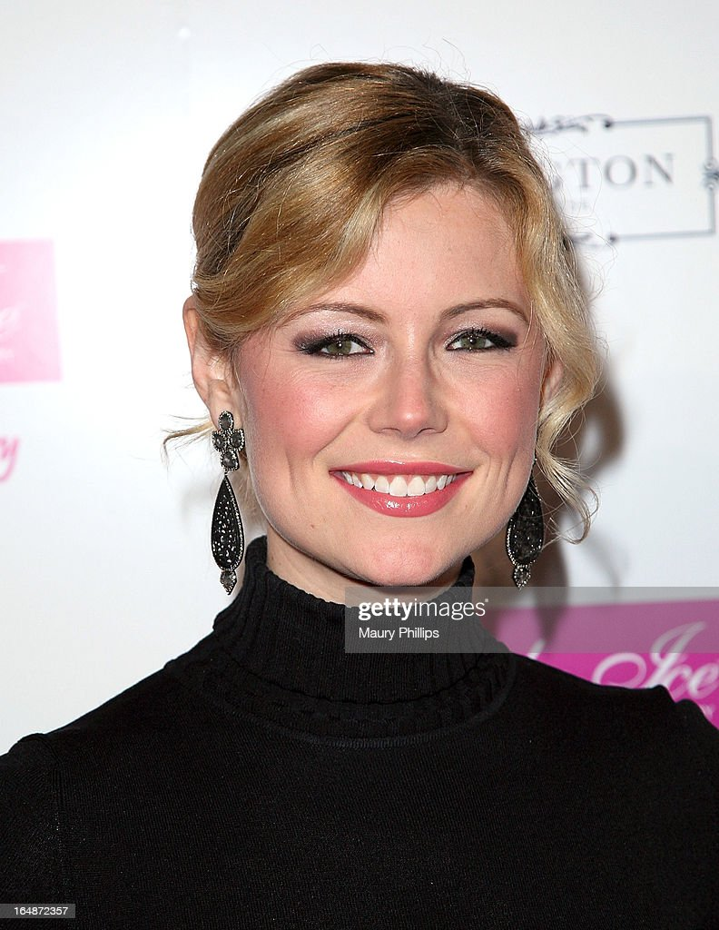 Kim Poirier attends Fire & Ice Gala Benefiting Fresh2o at Lexington Social House on March 28, 2013 in Hollywood, California.