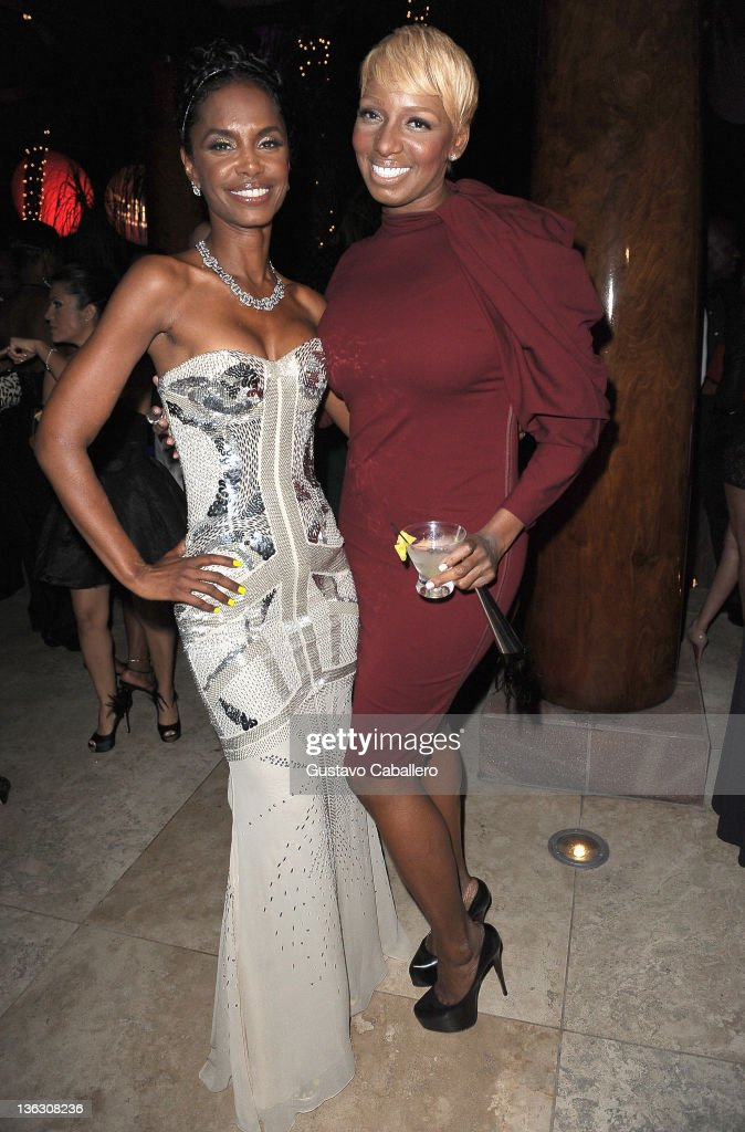 <a gi-track='captionPersonalityLinkClicked' href=/galleries/search?phrase=Kim+Porter&family=editorial&specificpeople=208648 ng-click='$event.stopPropagation()'>Kim Porter</a> and <a gi-track='captionPersonalityLinkClicked' href=/galleries/search?phrase=NeNe+Leakes&family=editorial&specificpeople=5446374 ng-click='$event.stopPropagation()'>NeNe Leakes</a> attend a Private Residence on December 31, 2011 in Miami Beach, Florida.