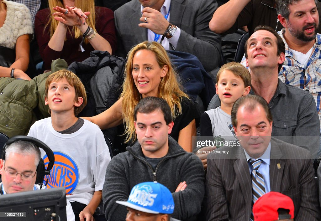<a gi-track='captionPersonalityLinkClicked' href=/galleries/search?phrase=Kim+Raver&family=editorial&specificpeople=213709 ng-click='$event.stopPropagation()'>Kim Raver</a> and family attend the Houston Rockets vs New York Knicks game at Madison Square Garden on December 17, 2012 in New York City.