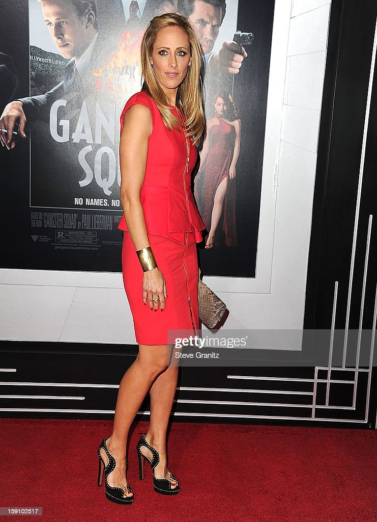 Kim Raver arrives at the 'Gangster Squad' - Los Angeles Premiere at Grauman's Chinese Theatre on January 7, 2013 in Hollywood, California.