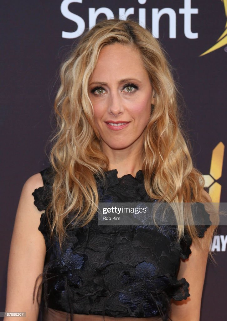 Kim Raver attends the '24: Live Another Day' World Premiere at Intrepid Sea on May 2, 2014 in New York City.