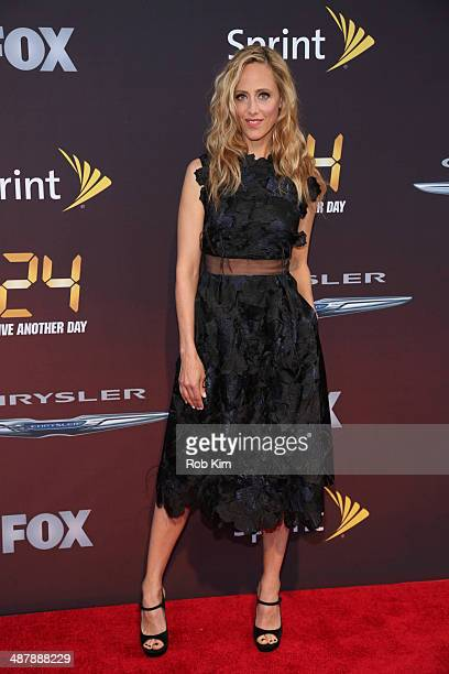 Kim Raver attends the '24 Live Another Day' World Premiere at Intrepid Sea on May 2 2014 in New York City
