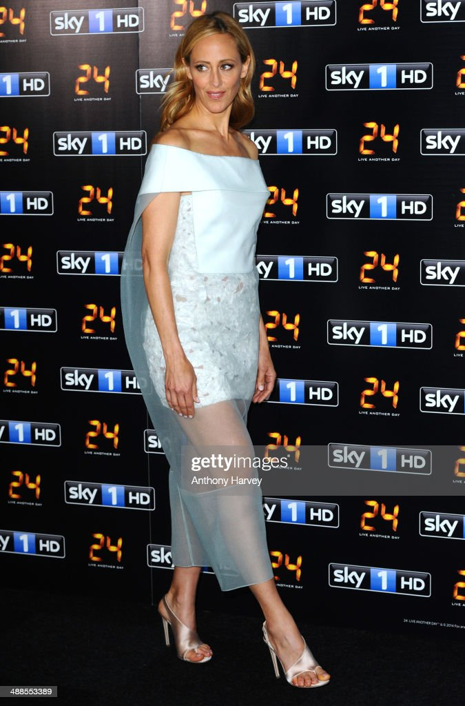 Kim Raver attends the UK premiere of '24: Live Another Day' at Old Billingsgate Market on May 6, 2014 in London, England.