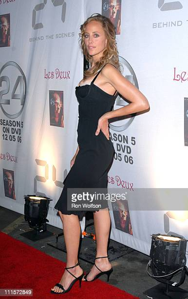 Kim Raver during '24' Season Five DVD Collection Launch Party at Las Deux in Hollywood California United States
