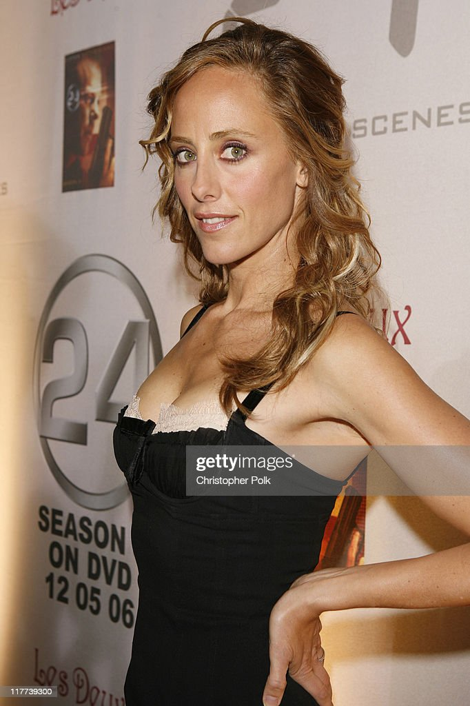 Kim Raver during '24' Season Five DVD Release at Les Deux in Hollywood California United States