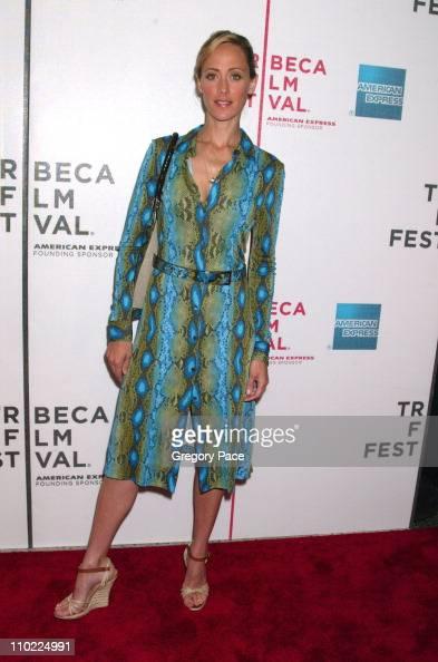 Kim Raver during 4th Annual Tribeca Film Festival 'Slingshot' Premiere Inside Arrivals at Stuyvesant High School in New York City New York United...