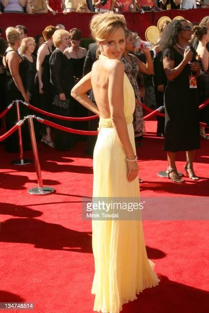 Kim Raver during 58th Annual Primetime Emmy Awards Arrivals at Shrine Auditorium in Los Angeles California United States