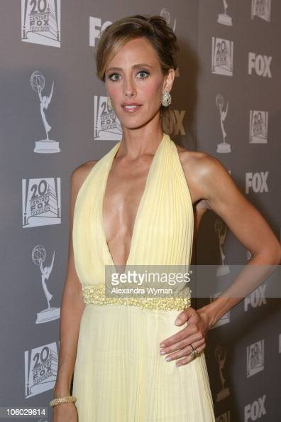 Kim Raver during 58th Annual Primetime Emmy Awards FOX After Party Arrivals at Spago in Beverly Hills California United States