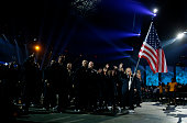 Kim Rhode carries the American flag for the United States during the Opening Ceremony for the Toronto 2015 Pan Am Games at Rogers Centre on July 10...