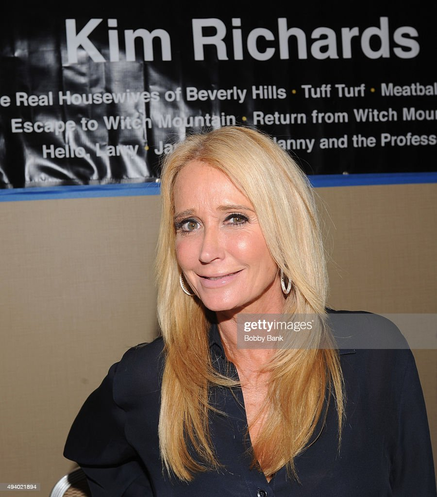 Kim Richards attends Day 1 of the Chiller Theatre Expo at Sheraton Parsippany Hotel on October 23, 2015 in Parsippany, New Jersey.