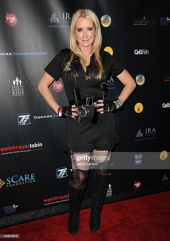 Kim Richards attends the sCare Foundation's 2nd annual Halloween benefit event at The Conga Room at L.A. Live on October 28, 2012 in Los Angeles, California.